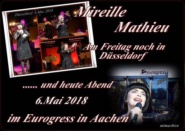 Mireille Mathieu in Aachen -- Konzertfotos Düsseldorf und ......