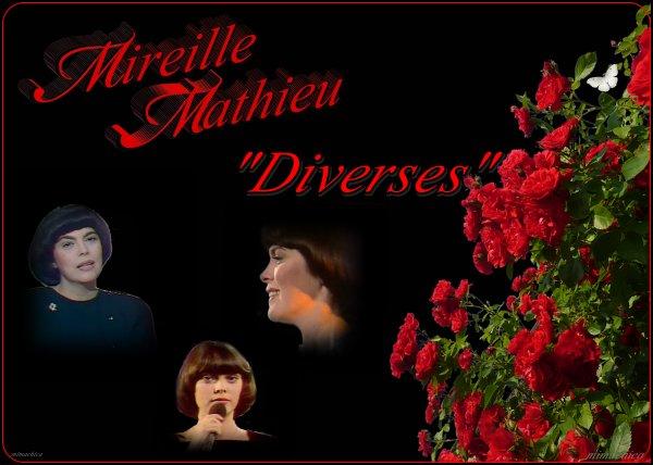 Mireille Mathieu                 Memories  ...1978 -1988...und.....