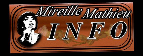 Die Mireille Mathieu Infostelle Deutschland teilt mit  ..... MIREILLE IN RUSSLAND - EN RUSSIE