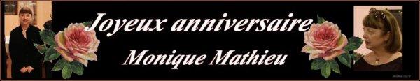 8.Juli 2018 Monique Mathieu Geburtstag & Diverses
