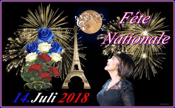 Mireille Mathieu              *** 14.Juli 2018   Fête Nationale .... und diverses