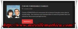 """Mireille Mathieu  """" MM Konzerte 2019  und Ch. Aznavours Tod in den russischen Medien (Video)"""""""