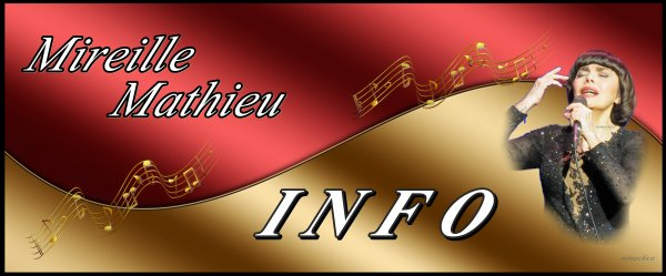 Die Mireille Mathieu Infostelle Deutschland teilt mit  ..... HOMMAGE VON MIREILLE FUER C. AZNAVOUR / HOMMAGE DE MIREILLE A CHARLES AZNAVOUR