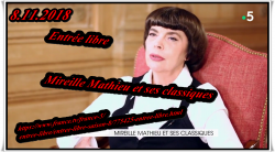 """Mireille Mathieu  """"Mes Classiques"""" Promo in Frankreich und Deutschland"""