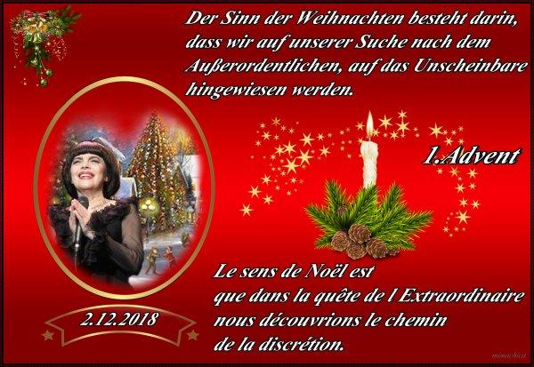 Mireille Mathieu               ♪♪♪ 1.Advent und Aktuelles ♪♪♪