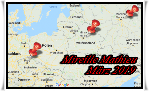 Mireille Mathieu                   Aktuelles