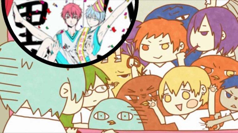 🏀 Remixe si toi aussi tu aimes Kuroko's basket 🏀
