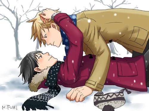 - « Et si tu me prenais dans tes bras et que tu m'embrassais? On s'a(b)imait »