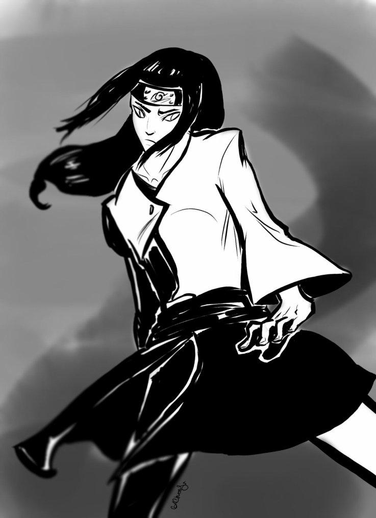 "-Je ne reviens jamais sur ma parole, c'est ça pour moi être un ninja !"" (NEJI HYUUGA KIBA INUZUKA LEE ROCK SHINO ABURAME...)"