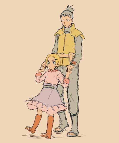 "J'aurai beau devenir très fort, si je ne suis pas avec eux, ça n'a aucune valeur "" (SHIKAMARU NARA ET INO YAMANAKA ! )"