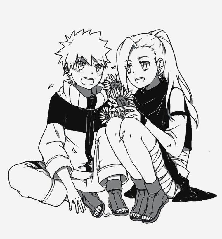 -Naruto et l'équipe 10