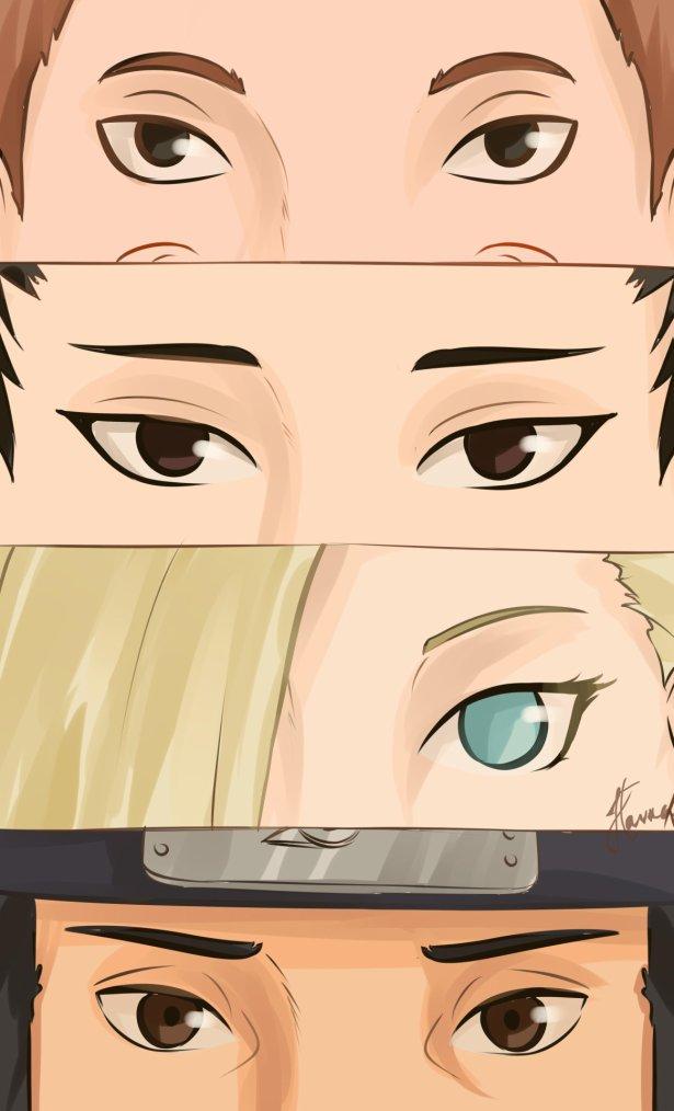 """-Je préfère mourir que de livrer un ami. !"""" Naruto Sasuke Sakura Kakashi Sai Yamato Itachi Iruka Choji Shikamaru Ino Asuma Lee Neji Tenten Gai Kiba Shino Hinata Kurenai...) ✰"""