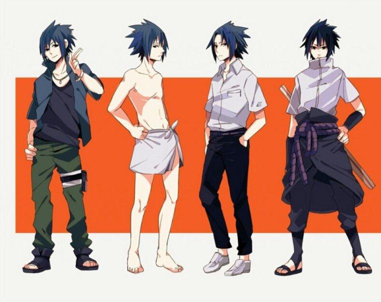 -devéloppement de sasuke.