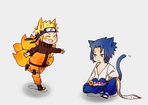 -Sasuke and Naruto.