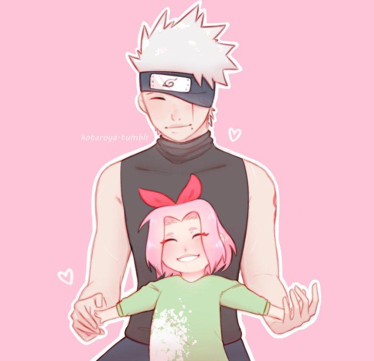 Kakashi x les enfants