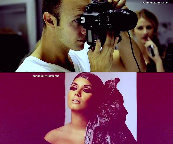 Voici un photoshoot du Beauty Book que Demi à effectuée pour le Cancer du cerveau (2011). Désolé de la mauvaise qualité des photos !