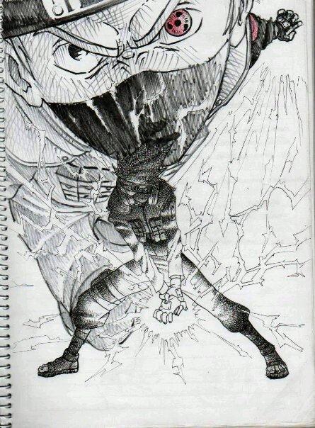 Articles de roxxas king tagg s dessin manga game 39 s - Dessin kakashi ...