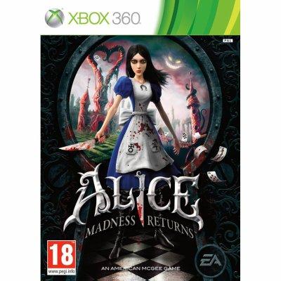 Jeux x-box 360 Alice retour au pays de la folie
