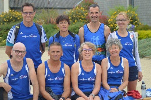 les équipes morlaisiennes aux 100 kms de Cléder