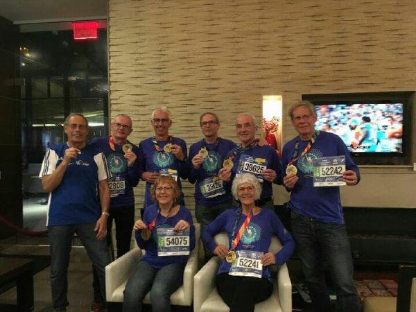 marathoniens de New york 2017 !!!