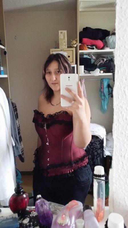 nouveau corset :)