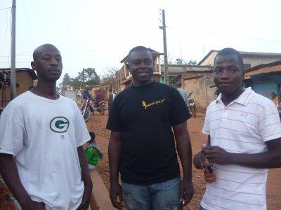 Demba (2 Pac), George, Lamine