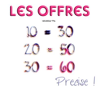 Article O1. Offres de chiffres.