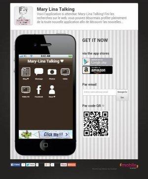 Partagez l'application !