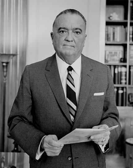 Casting de J. Edgar Hoover.