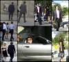 Photos : Arrivée d'un mariage