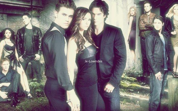 Chapitre 4; The Vampires Diaries!