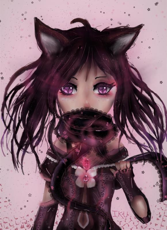 Purple Neko