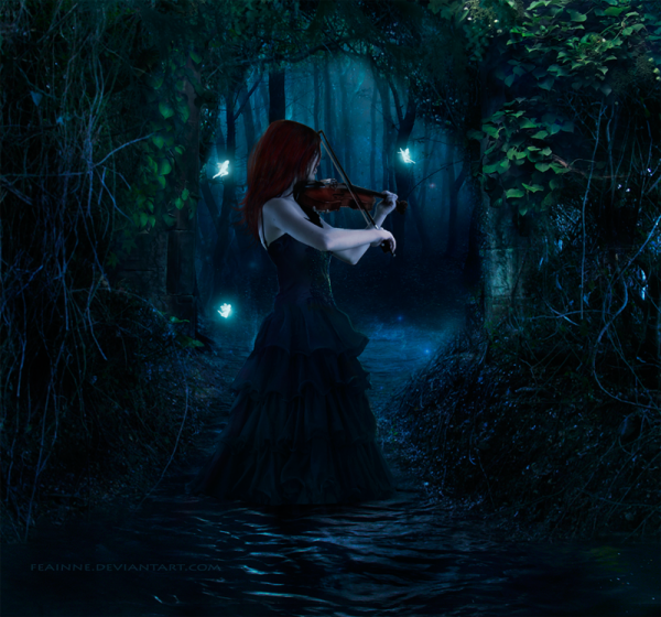 La musique devrait être les mots de l'âme...