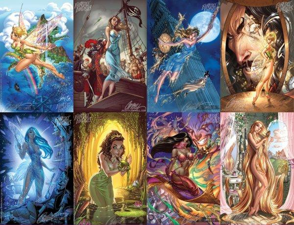 Les princesses vu par FAIRYTALE FANTASIES