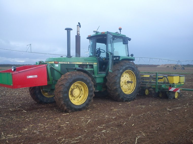 semis maïs 2012