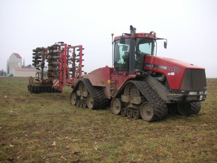 stx 450 et tiger MT 6 metres