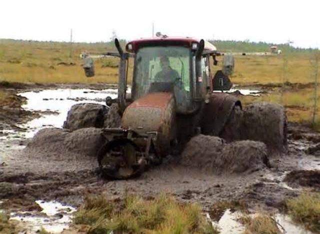 un bain de boue .