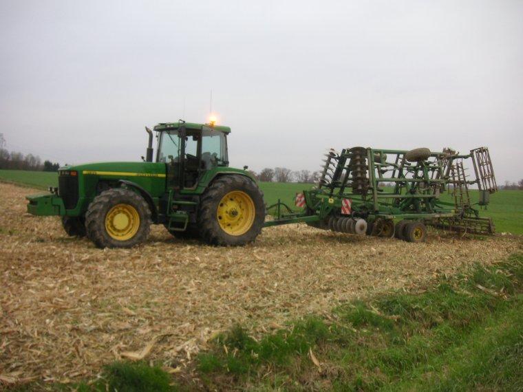 au mulch pour les semis de blés