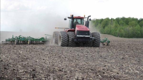 préparation de sol pour maïs