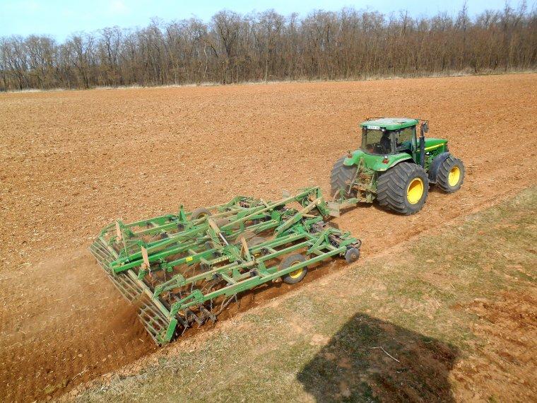 un peu de tout en préparation de sol
