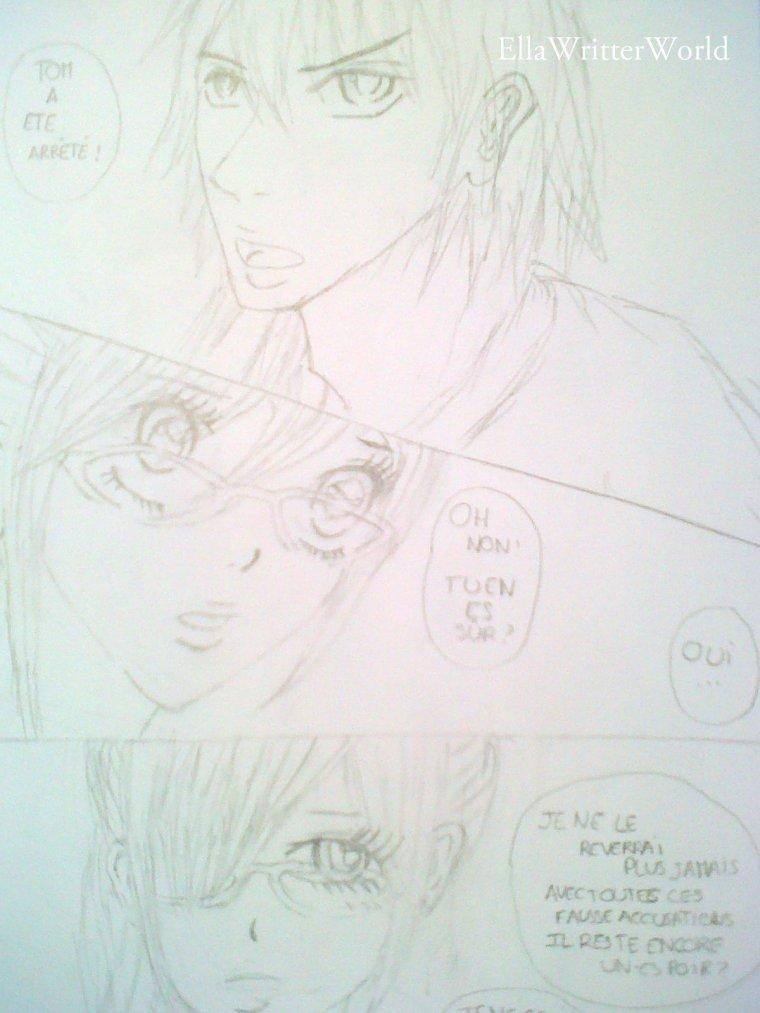 Dessin de Nika et Arata ♥