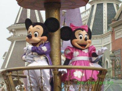 mickey et minnie kil sont mignon tt les 2