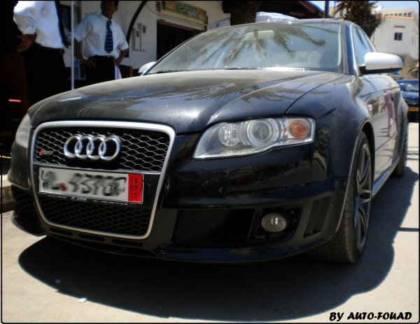 AUDI S8 & AUDI RS4