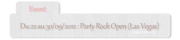 #Party Rock Open + Instagram