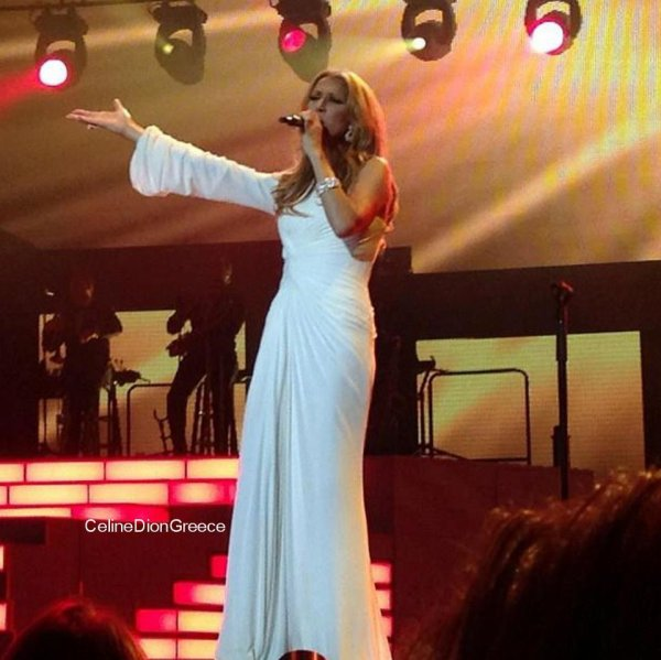 "Celine at Caesars Palace performing ""Rolling in the Deep"" - June 23rd 2012"