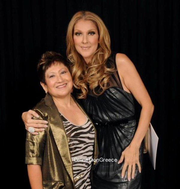 Celine with a fan (Ramona Almirez) on June 23th 2012