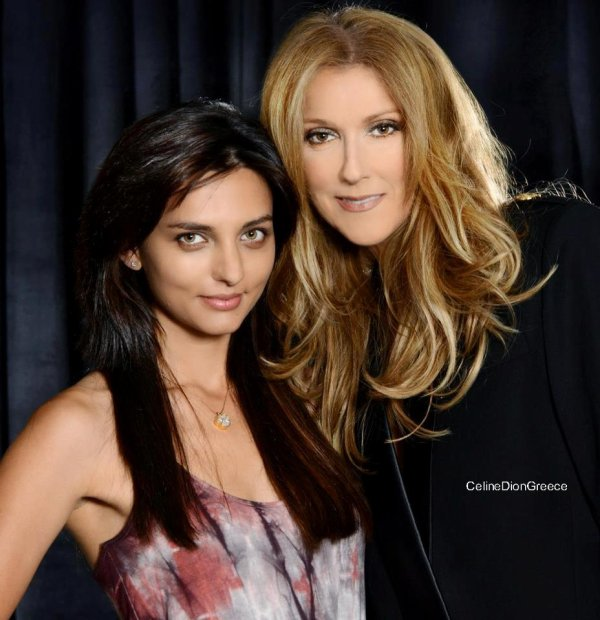 Celine with Christopher Ameruoso's wife Daniela from the Elvis Tribute photoshoot 16/7/12!