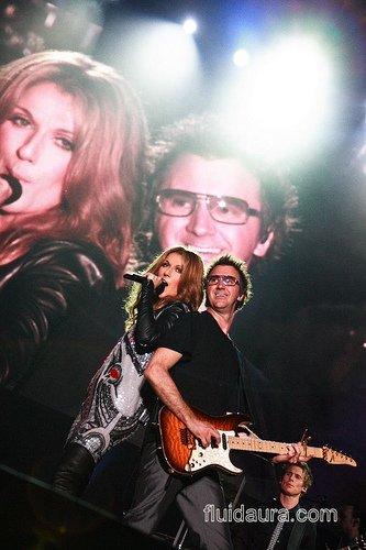"""""""Une saison en musique"""" : Céline Dion et Michel Sardou"""