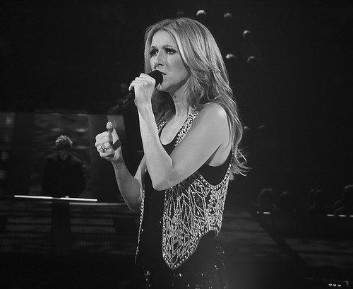Jean-Pierre Ferland chante pour Céline Dion