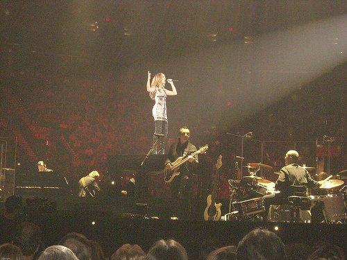 Céline Dion et Arcade Fire au concert pour Denis Blanchette